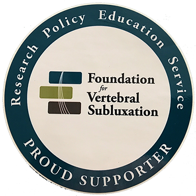 Foundation for Vertebral Subluxation Proud Supporter